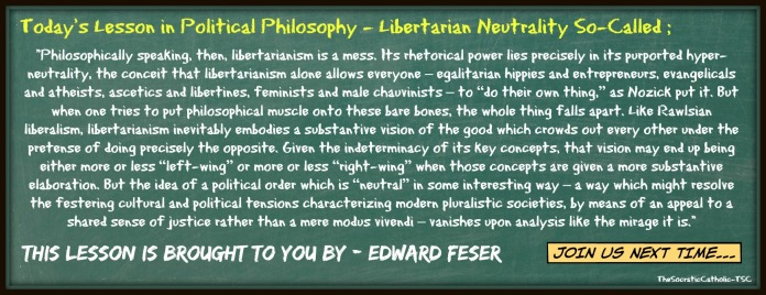 Lessons in Political Philosophy