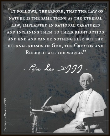 Pope Leo XIII on Natural and Eternal Law