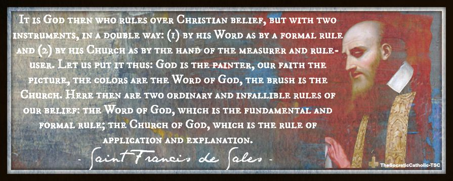 Saint Francis de Sales Rule of Faith