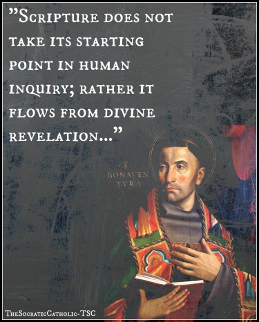 Saint Bonaventure on Scripture
