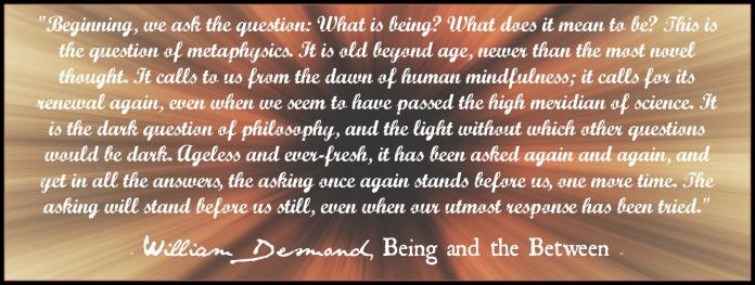 william-desmond-on-metaphysics