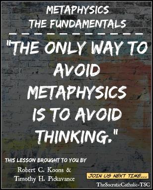 Metaphysics The Fundamentals