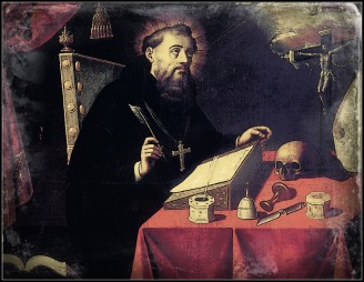 St. Augustine Writing