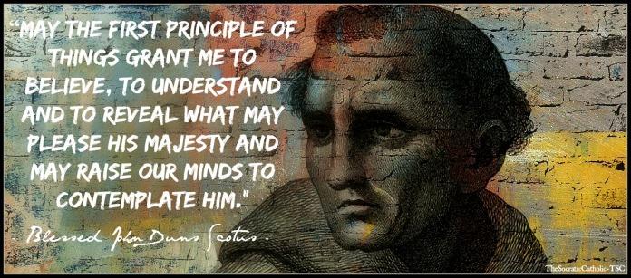 John Duns Scotus on the First Principle