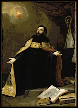 Saint Augustine in Ecstasy