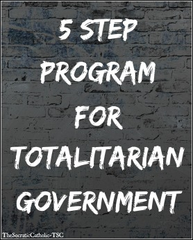 5 Step Program For Totalitarian Government