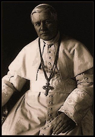 Pope St. Pius X Portrait