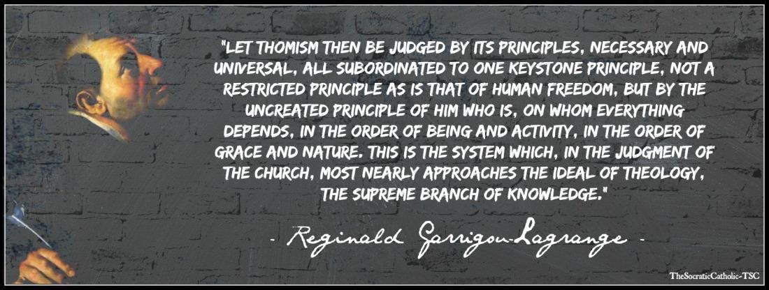 RGL on Thomism