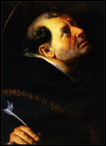 Saint Thomas Aquinas the Angelic Doctor Background