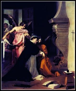 Saint Thomas in Mystical Ecstacy