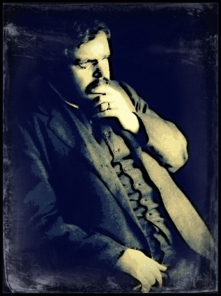 G.K. Chesterton Portrait