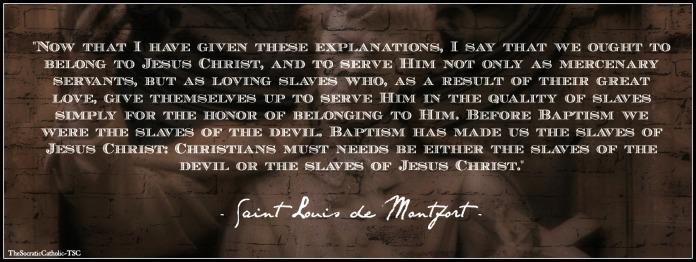Saint Louis de Montfort Praising God
