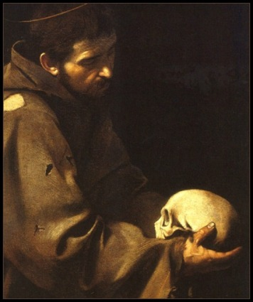 Saint Francis of Assisi w Skull