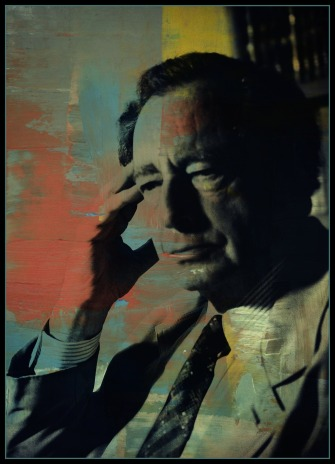 Wolfgang Smith Painted Portrait
