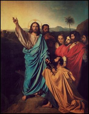 Jesus Giving Peter the Keys