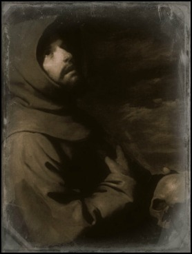 Saint Francis of Assisi With Skull