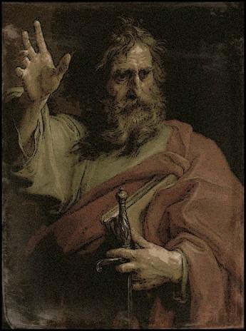 St. Paul & the Sword w: Frame